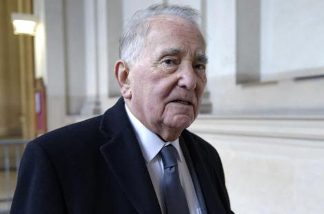 (FILES) --  A file picture taken on November 27, 2013 shows late French former minister Rene...