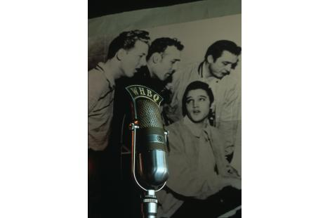 Elvis avec Jerry Lee Lewis, Carl Perkins, Johnny Cash